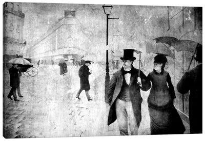 Paris Street II Canvas Art Print