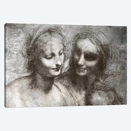 The Virgin and Child IV Canvas Print #CML170} by 5by5collective Canvas Artwork