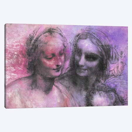 The Virgin and Child V Canvas Print #CML171} by 5by5collective Canvas Artwork