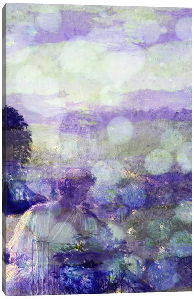 Summer Evening, Paris II Canvas Print #CML173
