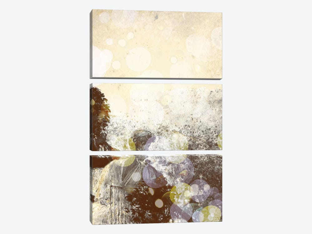 Summer Evening, Paris III by 5by5collective 3-piece Canvas Print