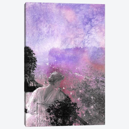 Summer Evening, Paris V 3-Piece Canvas #CML176} by 5by5collective Canvas Art Print
