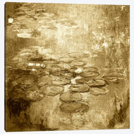 Nympheas I Canvas Print #CML177} by 5by5collective Art Print