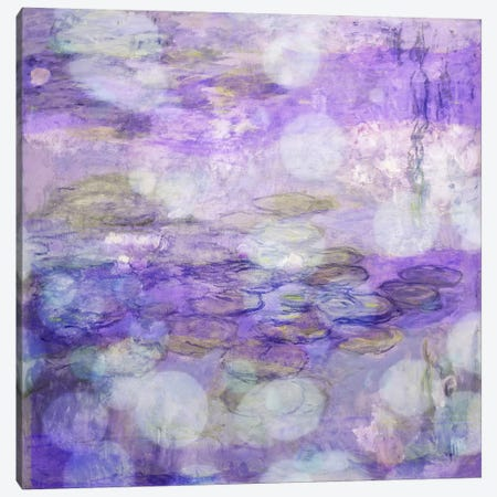 Nympheas II Canvas Print #CML178} by 5by5collective Canvas Wall Art