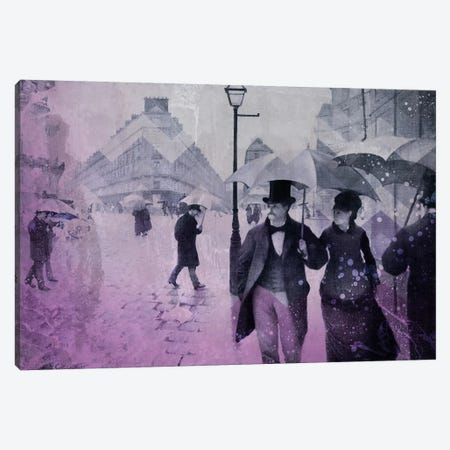 Paris Street III Canvas Print #CML17} by 5by5collective Canvas Artwork