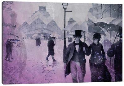 Paris Street III Canvas Art Print