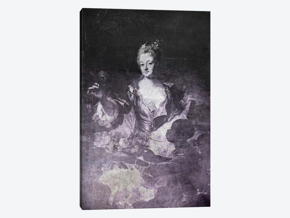 Portrait of Hyacinthe-Sophie de Beschanel-Nointel I by 5by5collective 1-piece Canvas Wall Art