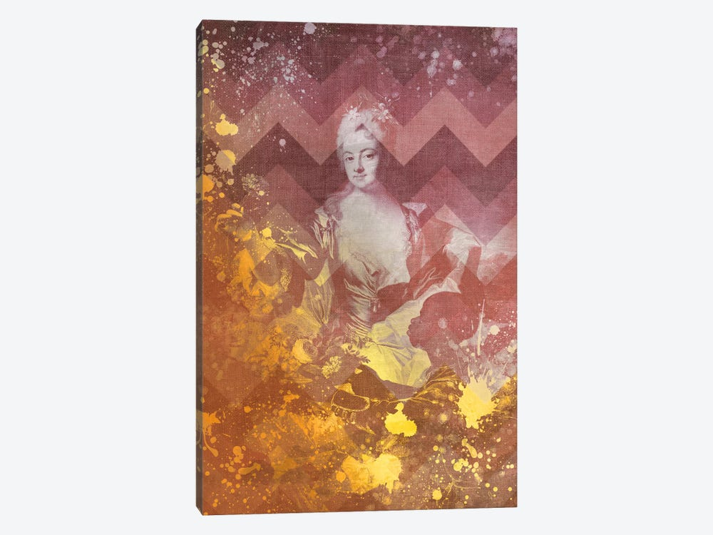Portrait of Hyacinthe-Sophie de Beschanel-Nointel IV by 5by5collective 1-piece Art Print