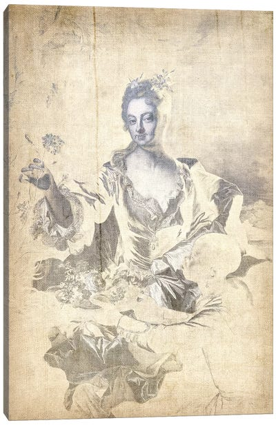 Portrait of Hyacinthe-Sophie de Beschanel-Nointel V Canvas Art Print