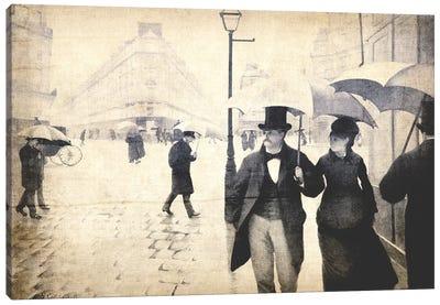 Paris Street V Canvas Print #CML19