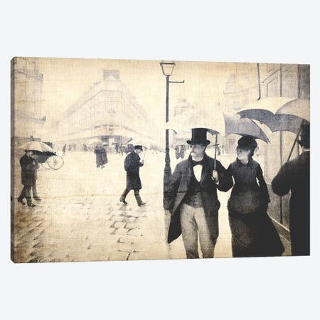 Paris Street V Canvas Print #CML19} by 5by5collective Canvas Print