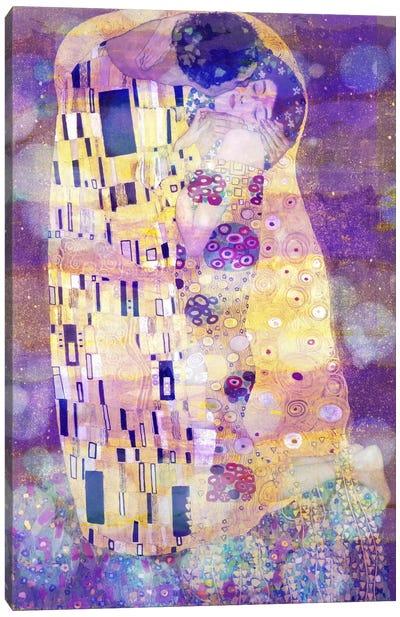 The Kiss II Canvas Print #CML23