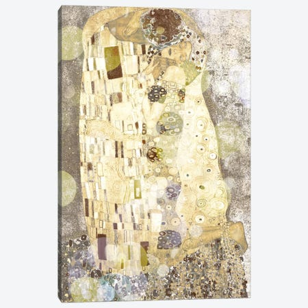 The Kiss III Canvas Print #CML24} by 5by5collective Canvas Print