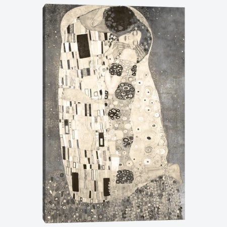 The Kiss IV Canvas Print #CML25} by 5by5collective Canvas Print