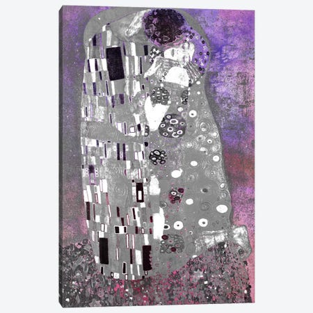 The Kiss V Canvas Print #CML26} by 5by5collective Art Print