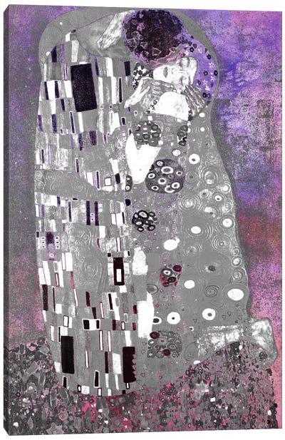The Kiss V Canvas Art Print