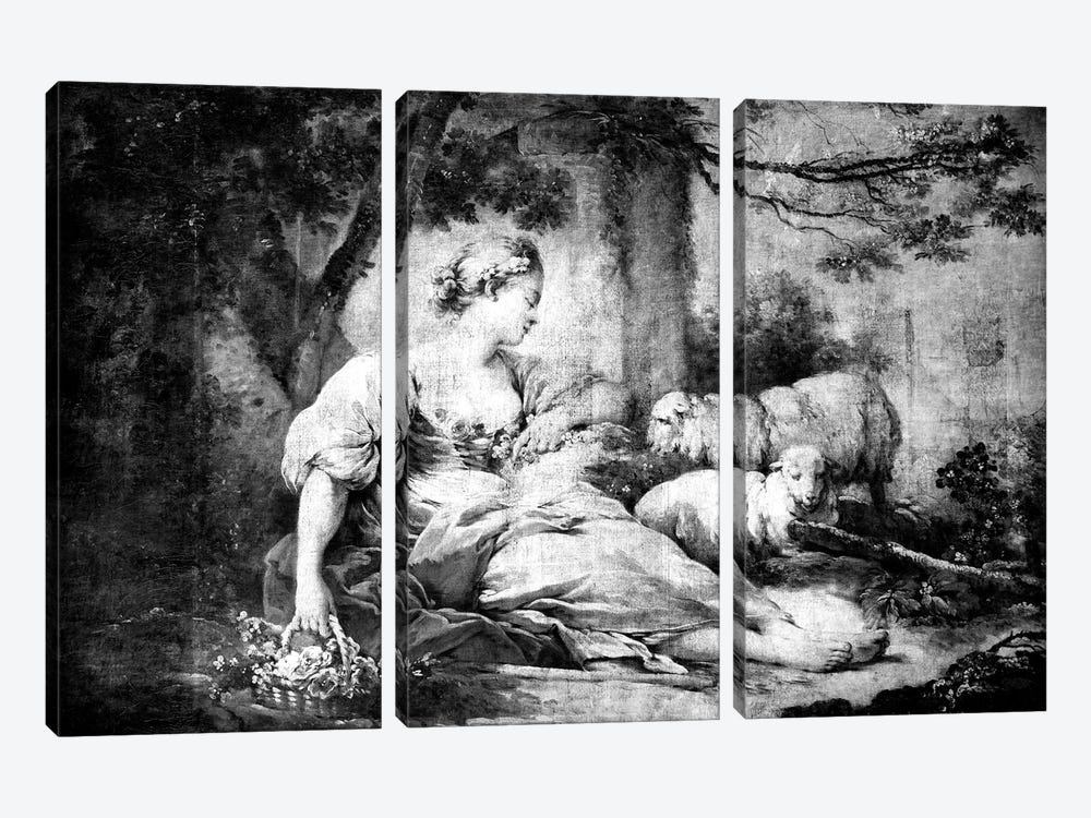 A Shepherdess II by 5by5collective 3-piece Canvas Art