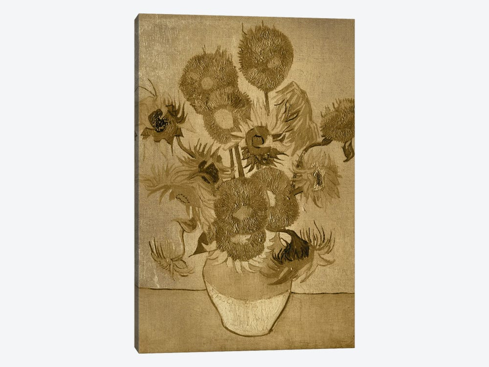 Sunflowers I by 5by5collective 1-piece Art Print
