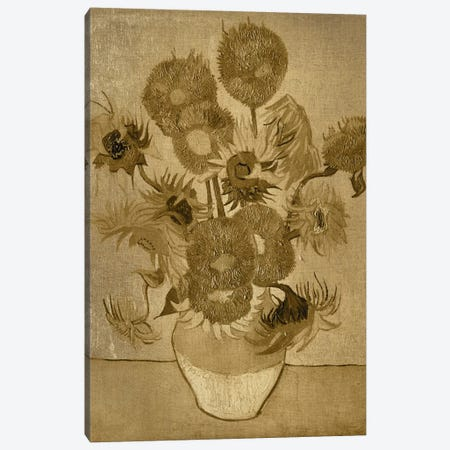 Sunflowers I Canvas Print #CML32} by 5by5collective Canvas Print