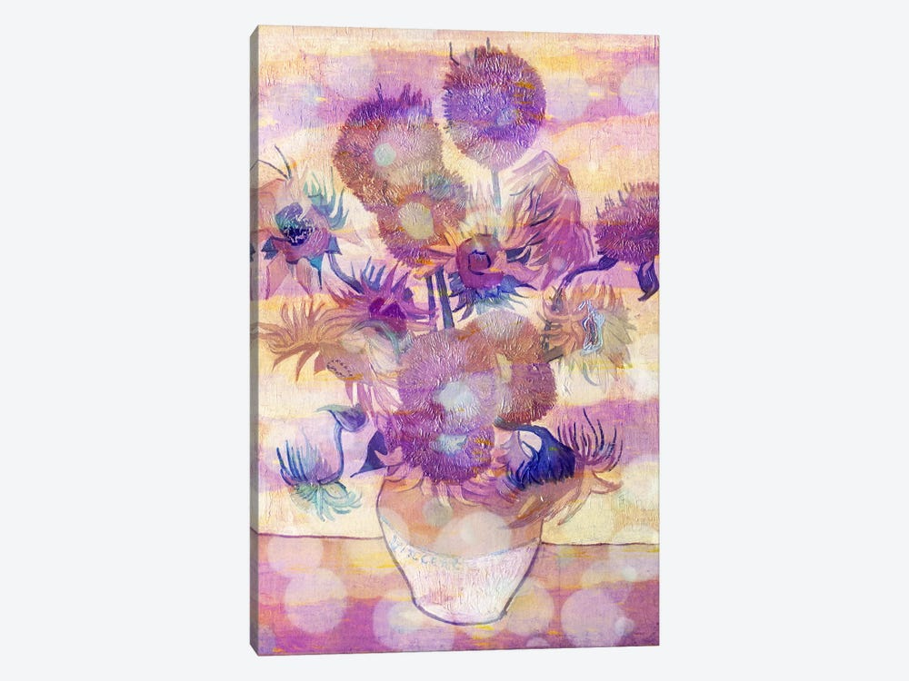 Sunflowers II by 5by5collective 1-piece Canvas Wall Art