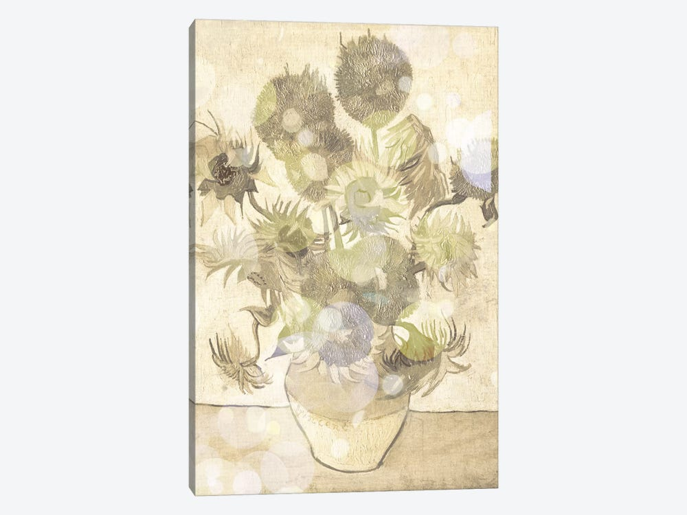 Sunflowers III by 5by5collective 1-piece Canvas Print