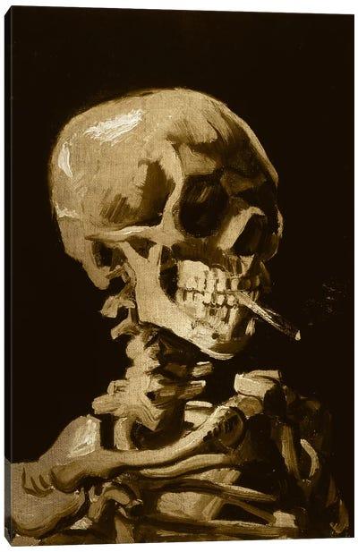 Skull of a Skeleton I Canvas Art Print