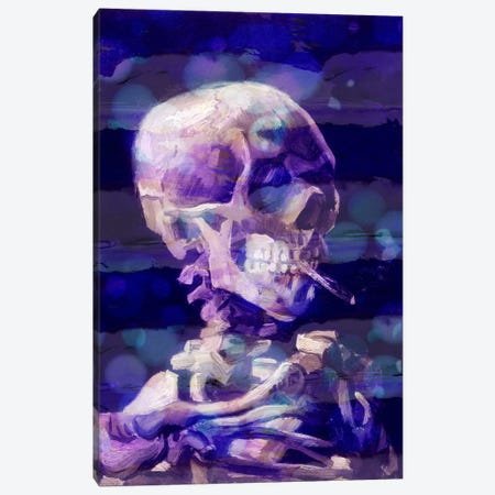 Skull of a Skeleton II Canvas Print #CML38} by 5by5collective Art Print