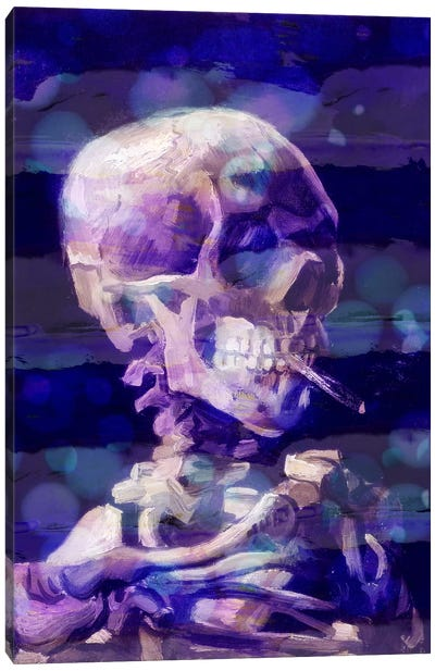 Skull of a Skeleton II Canvas Art Print
