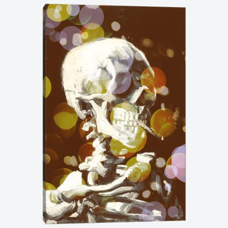 Skull of a Skeleton III Canvas Print #CML39} by 5by5collective Art Print