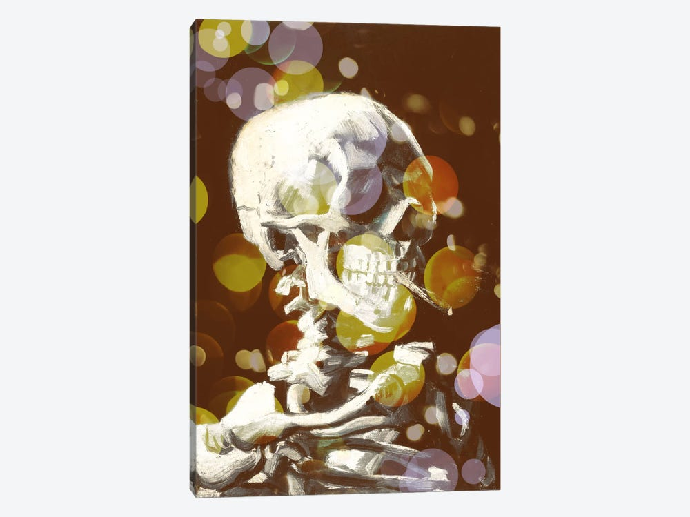 Skull of a Skeleton III by 5by5collective 1-piece Canvas Wall Art