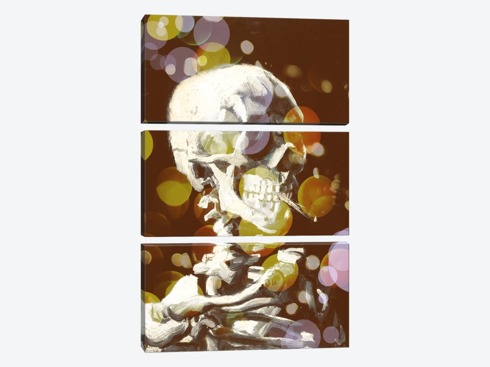 Skull of a Skeleton III by 5by5collective 3-piece Canvas Art