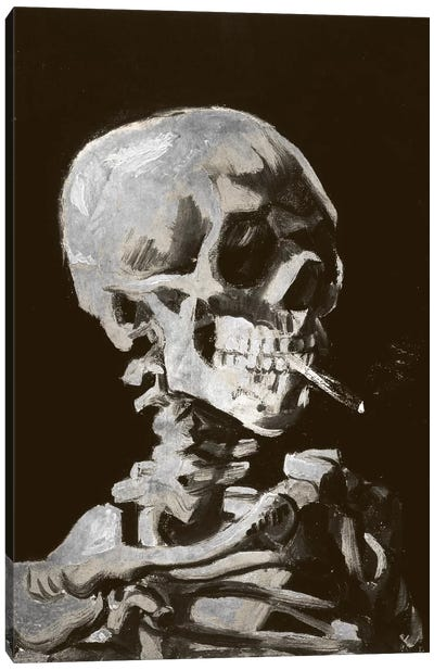 Skull of a Skeleton IV Canvas Art Print