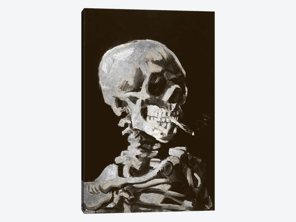 Skull of a Skeleton IV by 5by5collective 1-piece Canvas Art