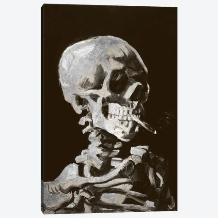 Skull of a Skeleton IV Canvas Print #CML40} by 5by5collective Canvas Artwork