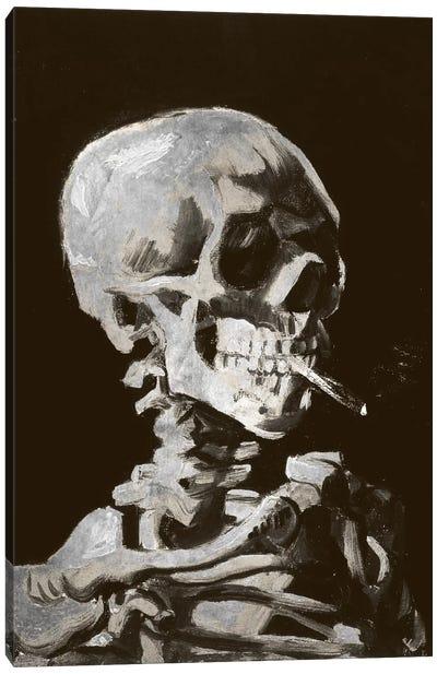 Skull of a Skeleton IV Canvas Art Print