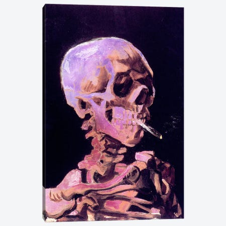 Skull of a Skeleton V Canvas Print #CML41} by 5by5collective Canvas Wall Art
