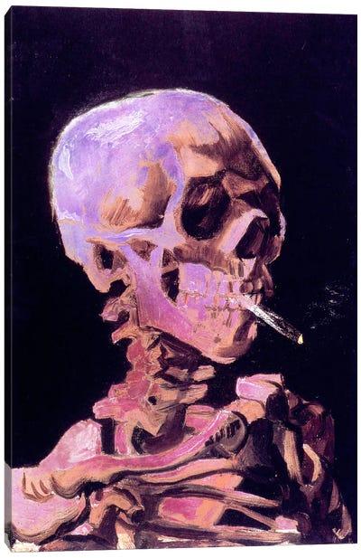 Skull of a Skeleton V Canvas Art Print