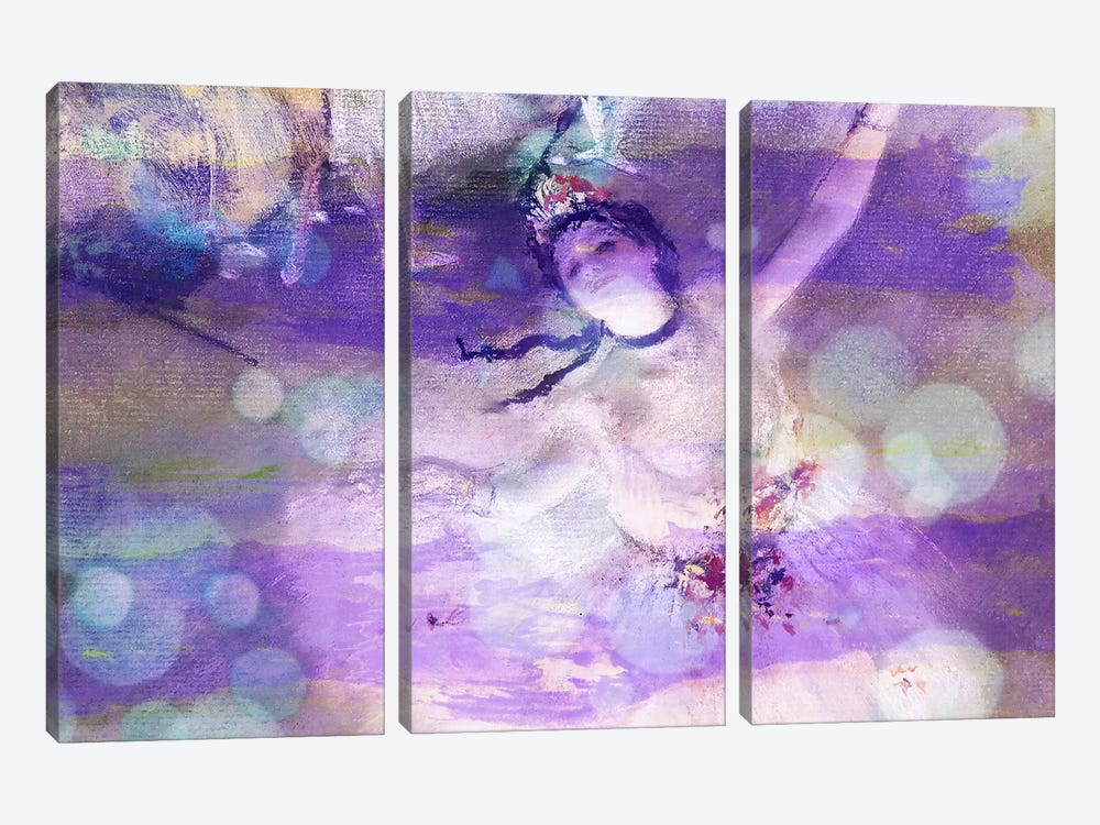 The Star II by 5by5collective 3-piece Canvas Print