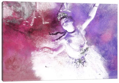 The Star V Canvas Art Print