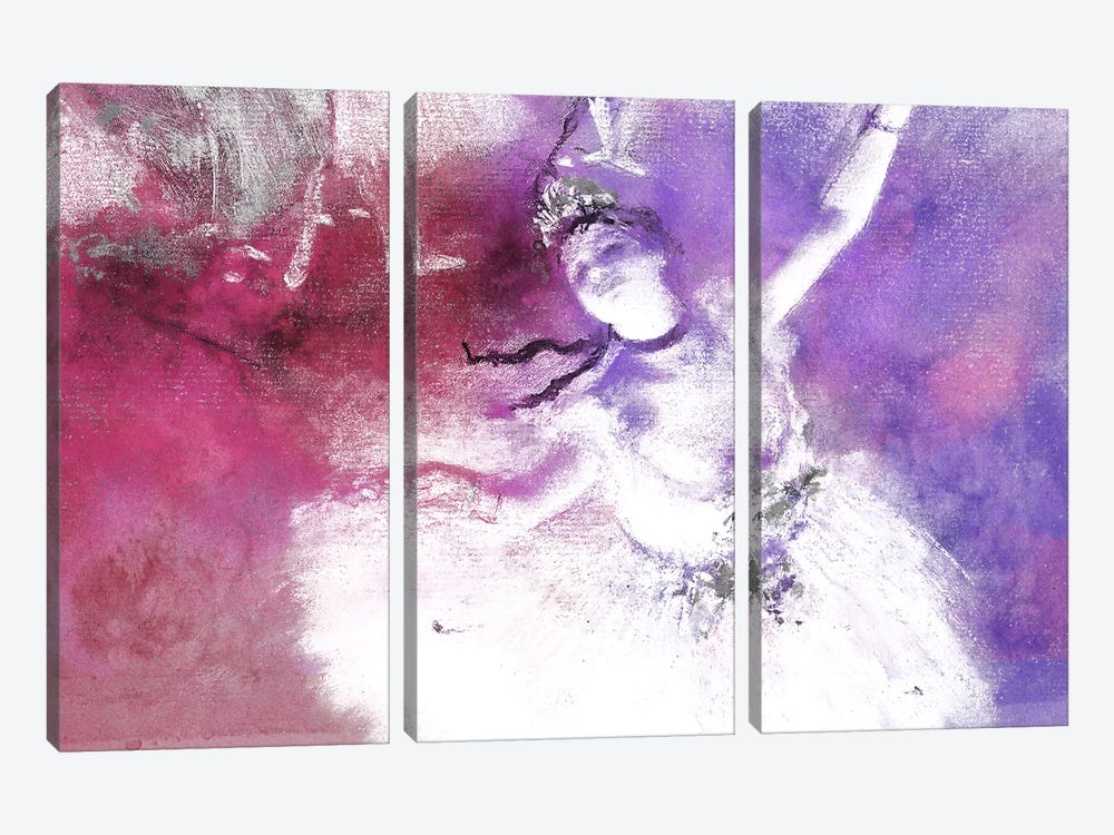 The Star V by 5by5collective 3-piece Canvas Print