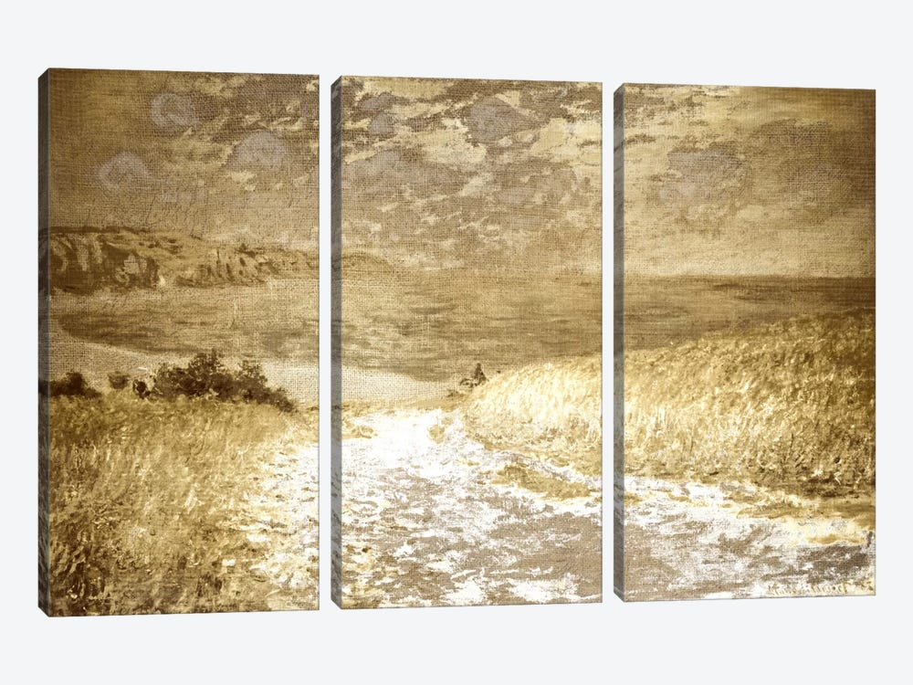 Path Through the Corn I by 5by5collective 3-piece Canvas Art