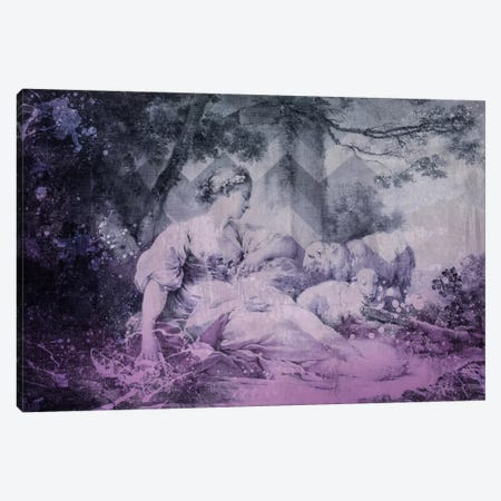 A Shepherdess IV Canvas Print #CML4} by 5by5collective Art Print
