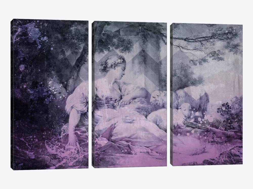 A Shepherdess IV by 5by5collective 3-piece Canvas Wall Art