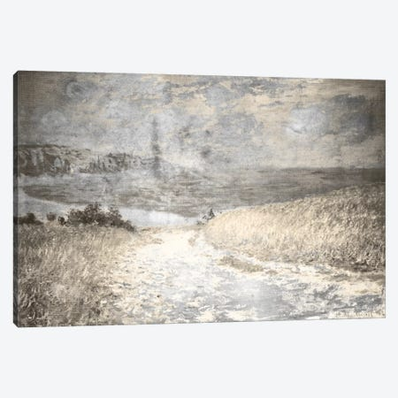 Path Through the Corn IV Canvas Print #CML51} by 5by5collective Art Print
