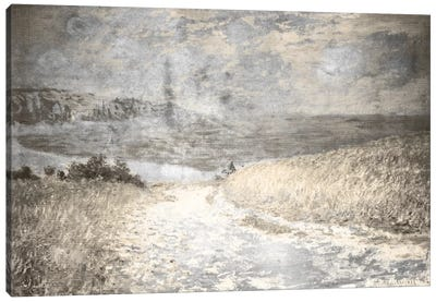 Path Through the Corn IV Canvas Print #CML51