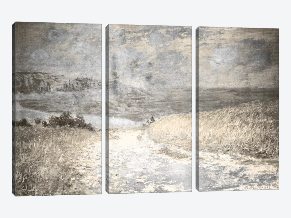 Path Through the Corn IV by 5by5collective 3-piece Canvas Wall Art