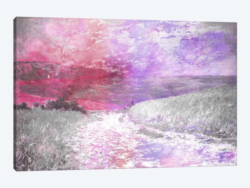 Path Through the Corn V by 5by5collective 1-piece Canvas Art Print