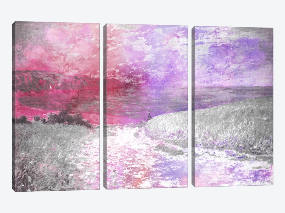 Path Through the Corn V by 5by5collective 3-piece Canvas Print