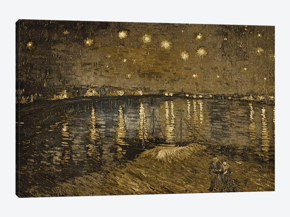 Starry Night Over the Rhone I by 5by5collective 1-piece Canvas Art