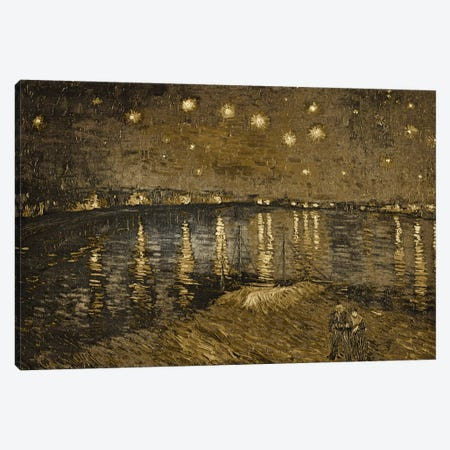 Starry Night Over the Rhone I Canvas Print #CML53} by 5by5collective Canvas Art Print